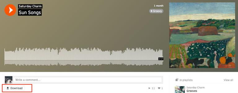 Chật vật khi download nhạc SoundCloud? Xin mời xem qua 2 bí quyết dưới đây! 5