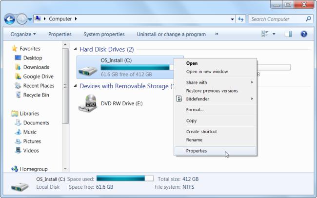 7 bí kíp thần kỳ giúp giải phóng không gian ổ cứng trên Windows 1