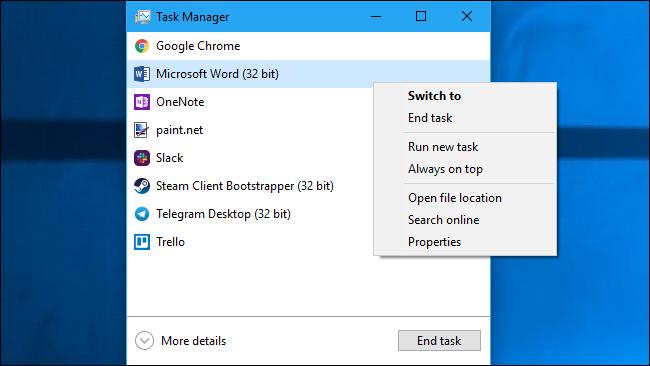 Cẩm nang toàn tập về Windows Task Manager - bạn đã biết chưa? (phần 1) 11