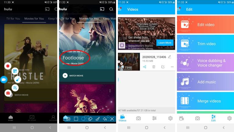 6 cách quay màn hình Android mới nhất 2021 6