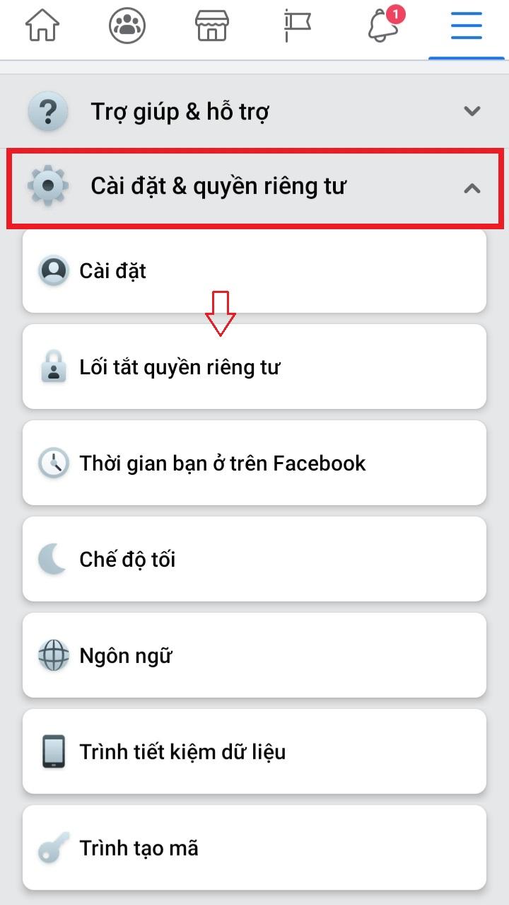 Ẩn bạn bè trên Facebook bằng Android trong một nốt nhạc với thủ thuật siêu đơn giản 7