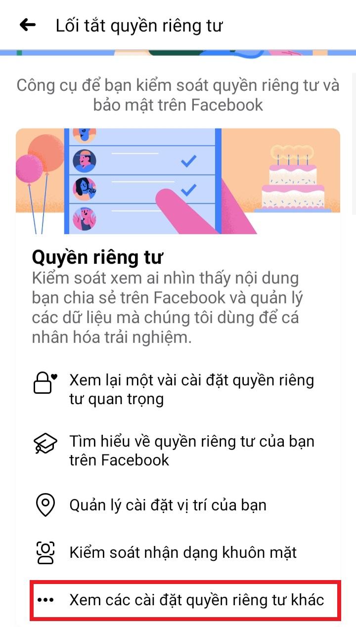 Ẩn bạn bè trên Facebook bằng Android trong một nốt nhạc với thủ thuật siêu đơn giản 8