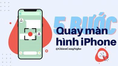 Cách quay màn hình iPhone chỉ với 5 bước đơn giản 19