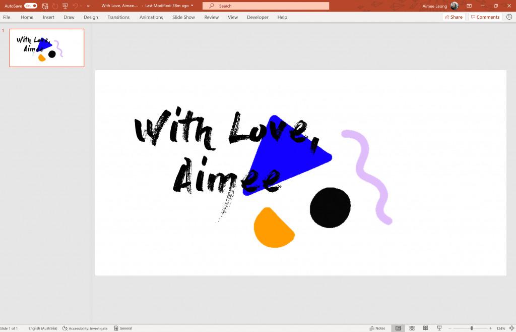 cách tạo ảnh GIF trong PowerPoint