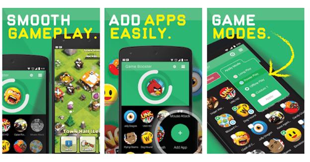 Phần mềm tăng tốc game Android.