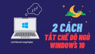 2 cách tắt chế độ ngủ Windows 10 đơn giản 43