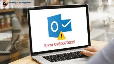 Cách sửa lỗi error code 0x80070035 không tìm thấy đường dẫn mạng 1