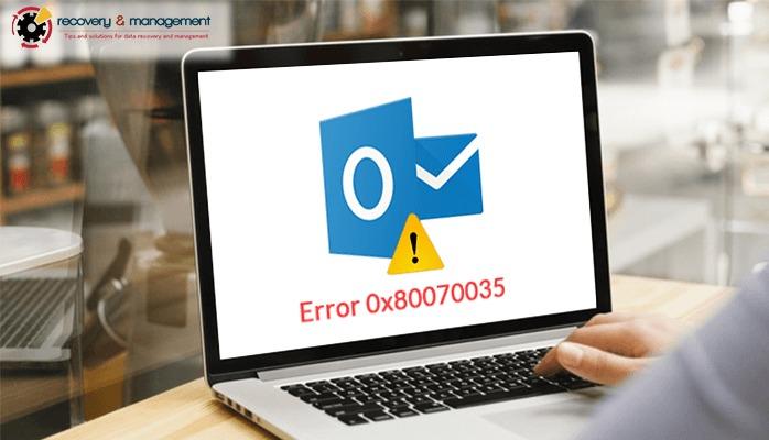Cách sửa lỗi Error code 0x80070035 không tìm thấy đường dẫn mạng