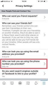 Tất tần tật cách ẩn số điện thoại trên Facebook 13
