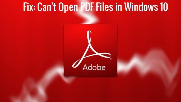 5 mẹo sửa lỗi không mở được file PDF đảm bảo hiệu quả