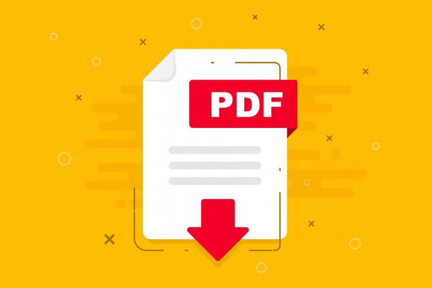 không mở được file PDF