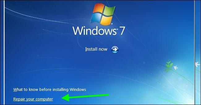 Sửa lỗi máy tính không khởi động được.