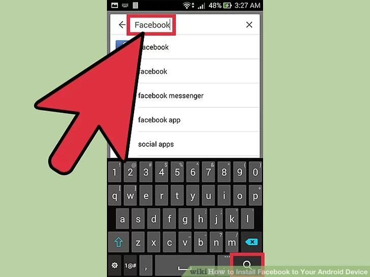 Cách tải Facebook cho Android để kết bạn với người thân quen 3