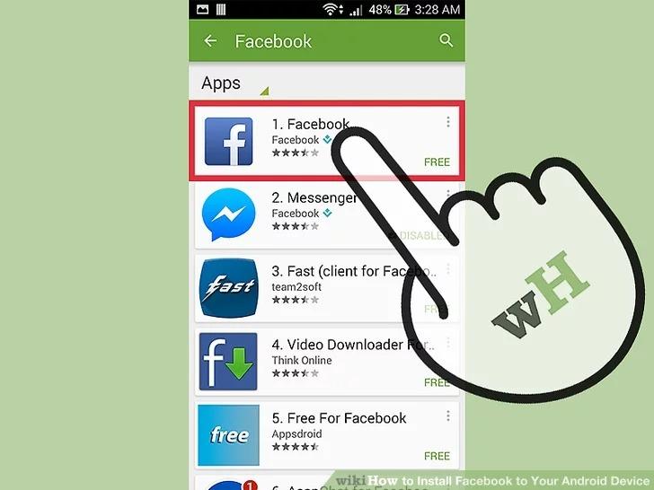 Cách tải Facebook cho Android để kết bạn với người thân quen 4