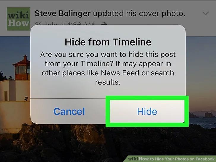 Đây là cách ẩn ảnh trên Facebook: ẩn ảnh lẻ hoặc cả album 6