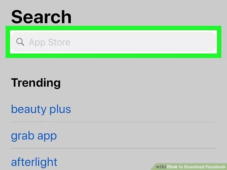 Cách tải Facebook cho iPhone siêu dễ 3