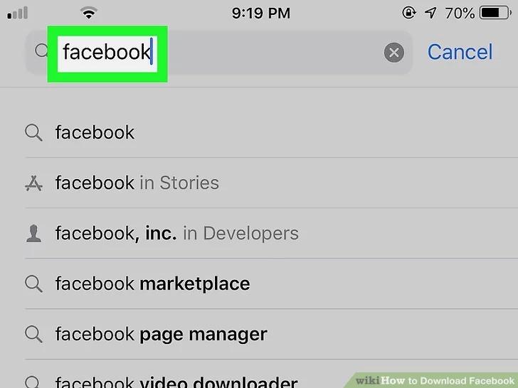 Cách tải Facebook cho iPhone siêu dễ 4