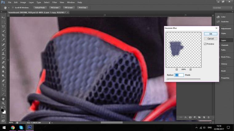 Cách xóa logo trên ảnh bằng Photoshop