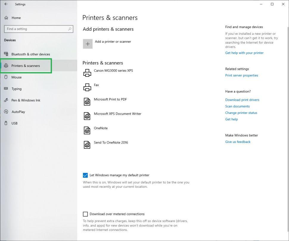 Cách chọn máy in mặc định trong Windows 10 đơn giản nhất 8