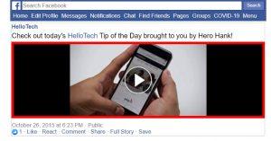 Cách lưu video trên Facebook về máy tính cực kì đơn giản 2