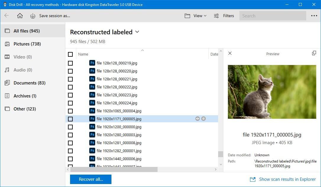 Top 5 phần mềm sửa lỗi thẻ nhớ tốt nhất 2021 24
