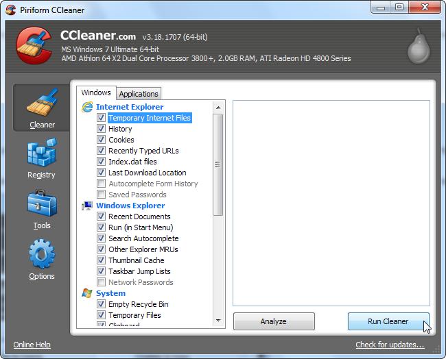 5 phút biết ngay cách dùng CCleaner dọn dẹp máy tính sạch sẽ 15