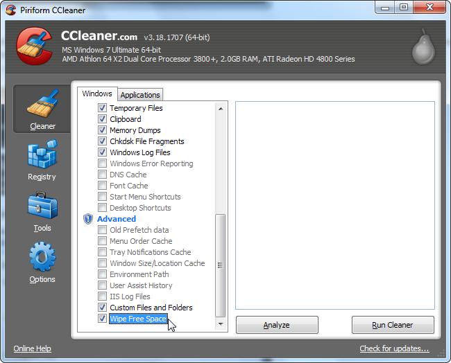 5 phút biết ngay cách dùng CCleaner dọn dẹp máy tính sạch sẽ 23