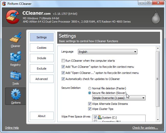 5 phút biết ngay cách dùng CCleaner dọn dẹp máy tính sạch sẽ 24