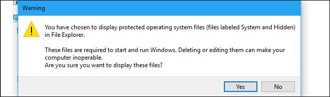 Cách hiện file ẩn trên Windows kể cả những file bí hiểm nhất 12