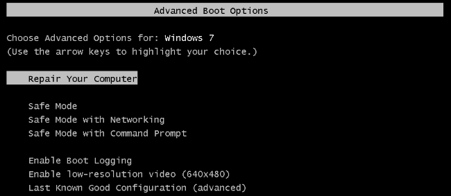Cách sửa lỗi máy tính không khởi động được mới nhất 2021 6