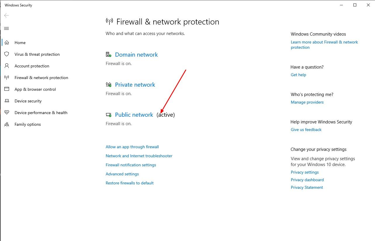 lỗi unidentified network
