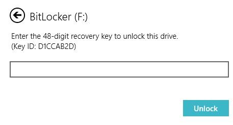 pha khoa BitLocker Win 10 03