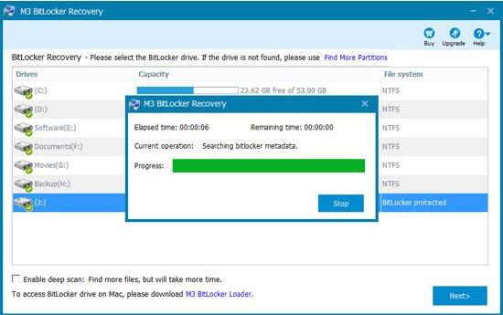 pha khoa BitLocker Win 10 08