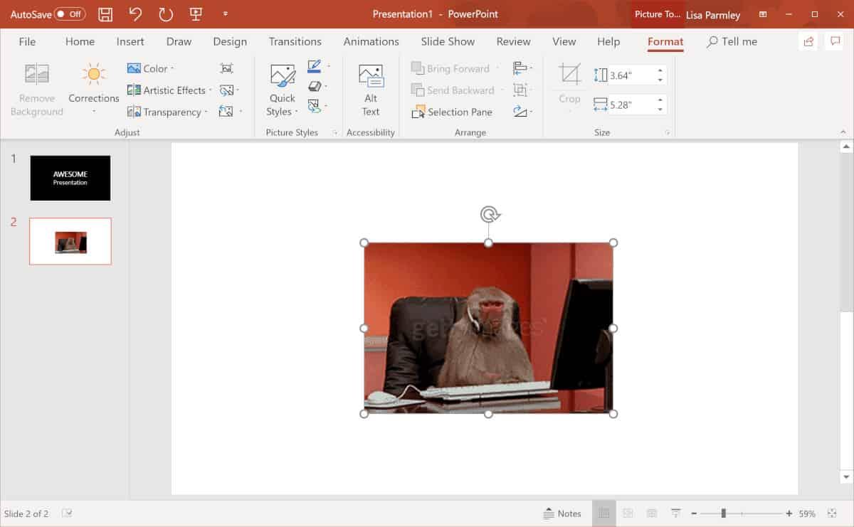 Biến bài thuyết trình của bạn sinh động hơn với 3 cách chèn GIF vào PowerPoint đơn giản 2