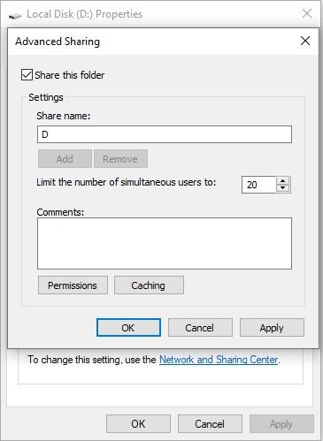 Cách sửa lỗi Error code 0x80070035 không tìm thấy đường dẫn mạng 20