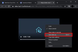Cách lưu video trên Facebook về máy tính cực kì đơn giản 3