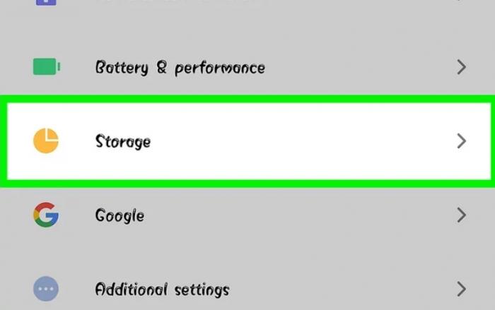tăng bộ nhớ trong cho Android