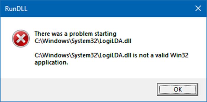 Cách sửa lỗi There was a problem starting trên Windows 10