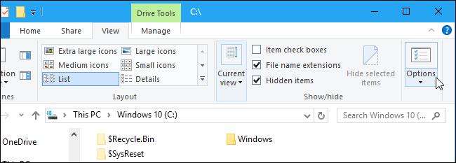 Cách hiện file ẩn trên Windows kể cả những file bí hiểm nhất 10