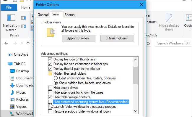 Cách hiện file ẩn trên Windows kể cả những file bí hiểm nhất 11