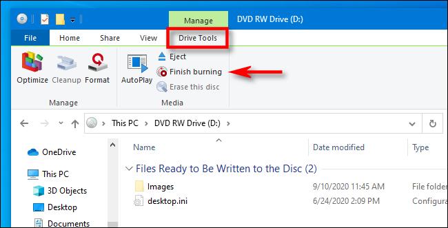 Mách bạn cách ghi file vào đĩa CD/DVD trên Windows 10 14