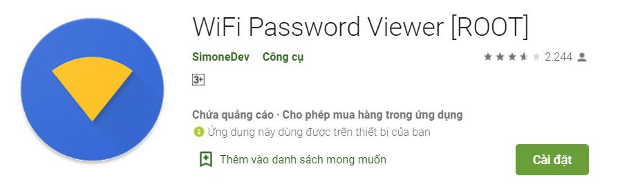 Hướng dẫn cách xem mật khẩu WiFi đã kết nối 5