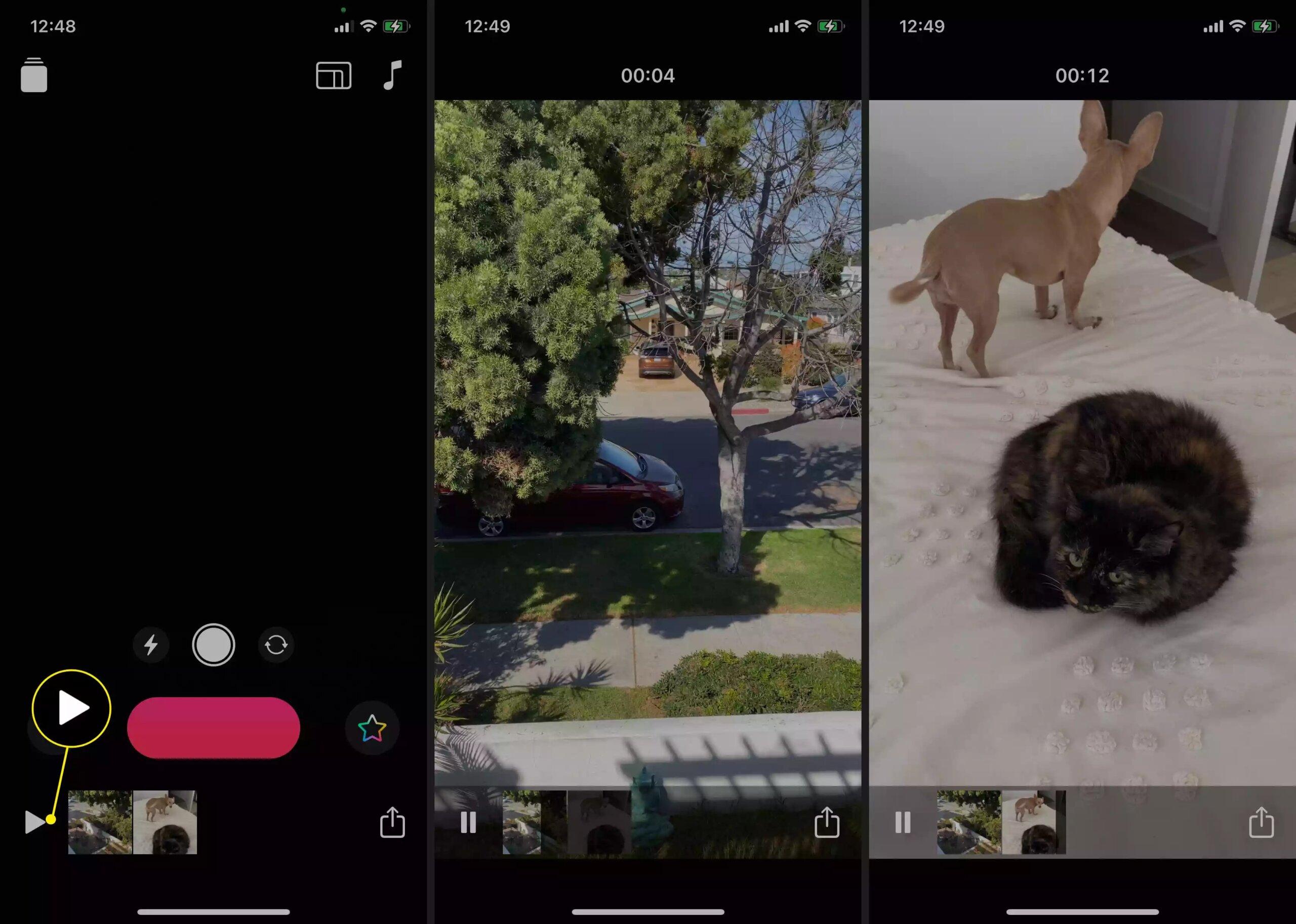 Cách làm video trên iPhone bằng app Clips có sẵn 19