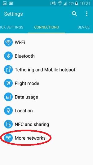 Bật mí cách chuyển vùng Android trong tích tắc 18