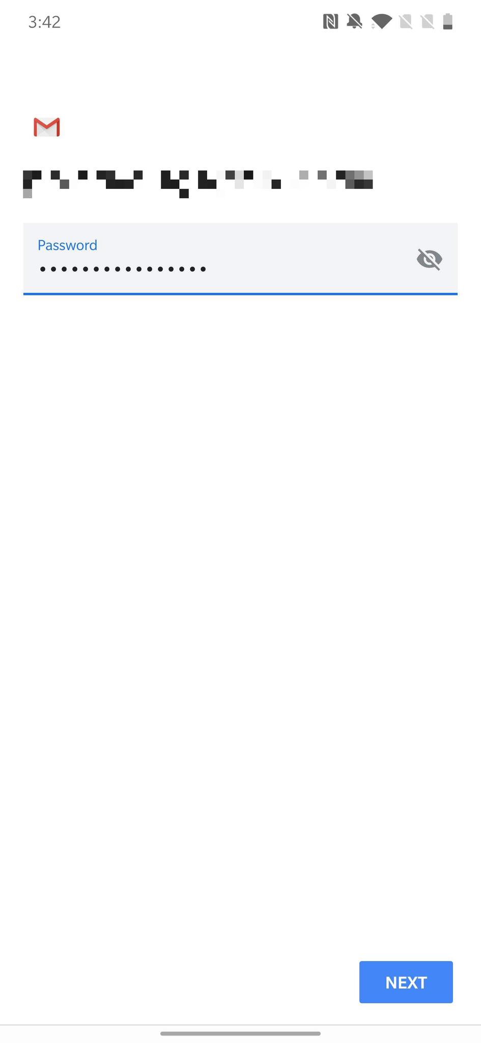 đăng nhập email iCloud trên Android