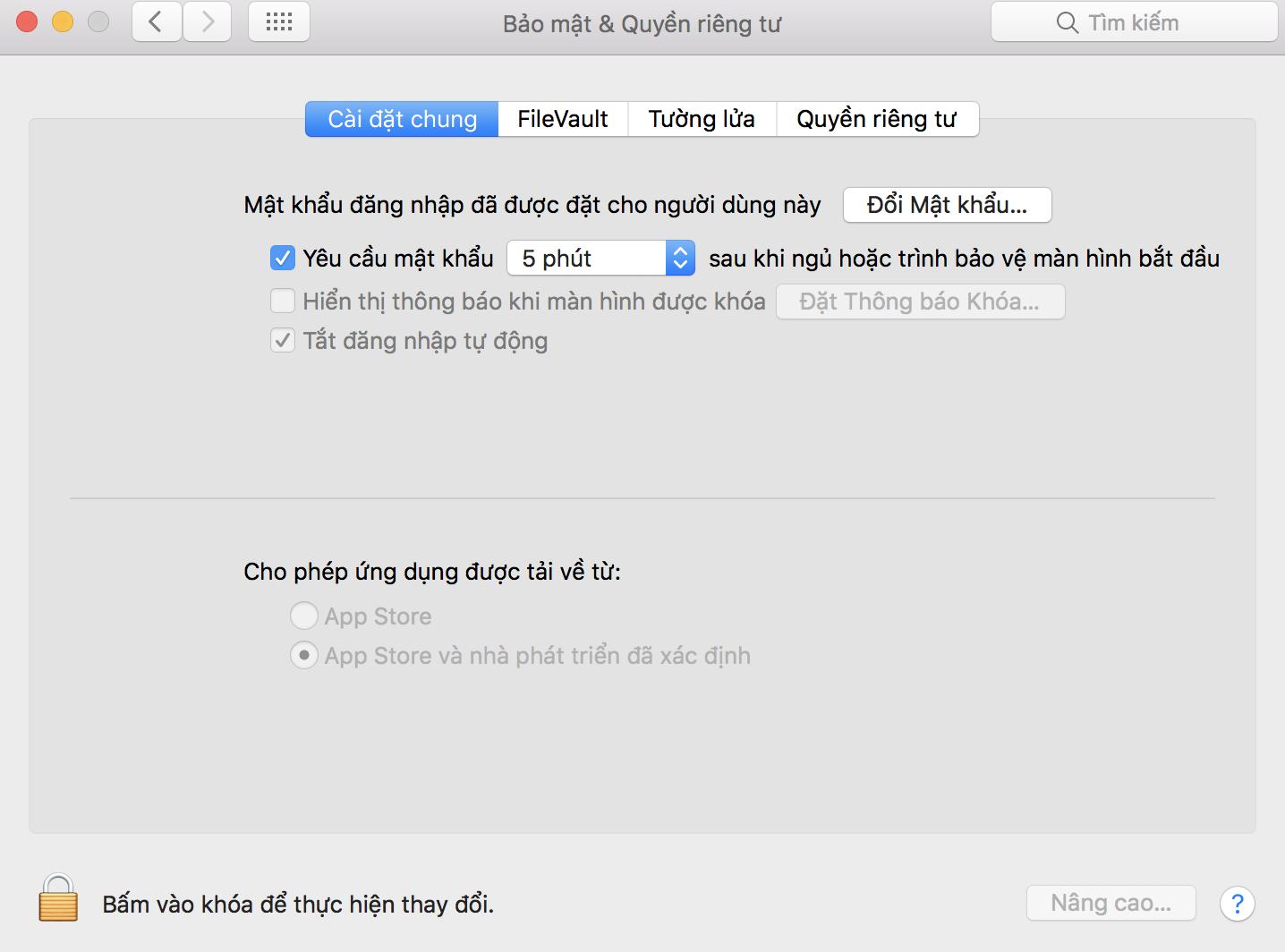 Cách mở ứng dụng khi hiện cảnh báo macOS cannot verify that this app is free from malware 10