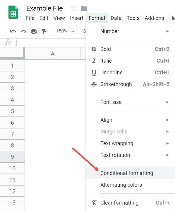 Cách tô màu dòng xen kẽ trong Google Sheets nhanh nhất, chỉ 2 click là xong 9