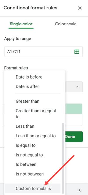 Cách tô màu dòng xen kẽ trong Google Sheets nhanh nhất, chỉ 2 click là xong 10