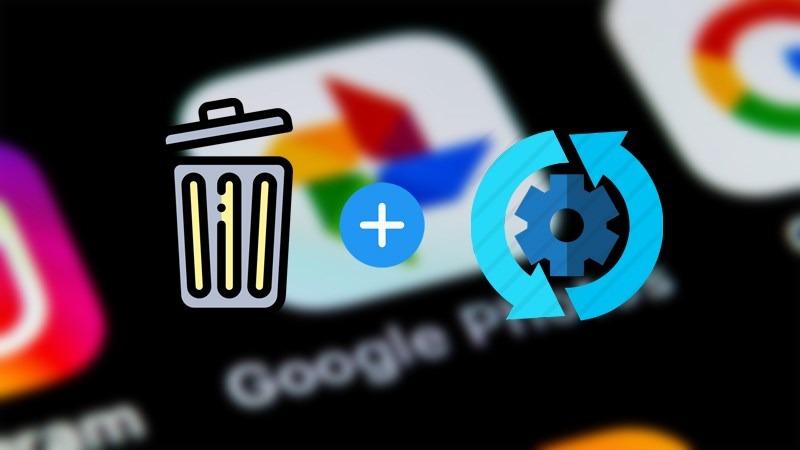 Giải phóng bộ nhớ Google Photos.