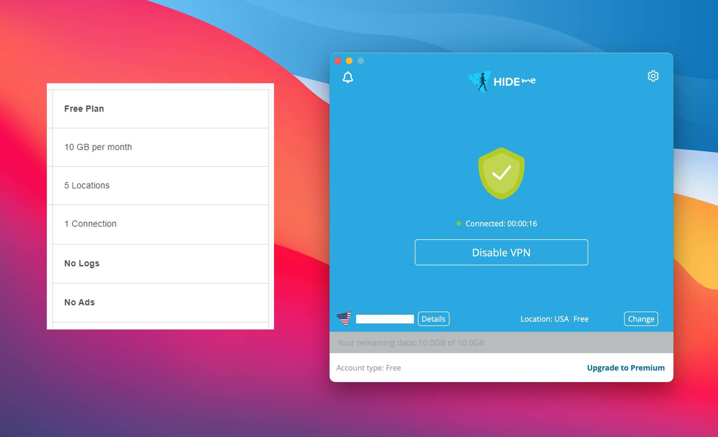 12 phần mềm VPN miễn phí cho Mac bảo đảm riêng tư cho bạn 13